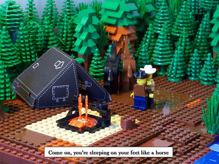 dick cheney hunting. Lego Dick Cheney Hunting